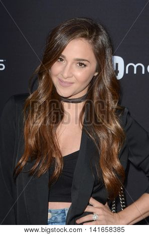 LOS ANGELES - AUG 4:  Alisan Porter at the 4Moms launch self-installing car seat at the Petersen Automotive Museum on August 4, 2016 in Los Angeles, CA