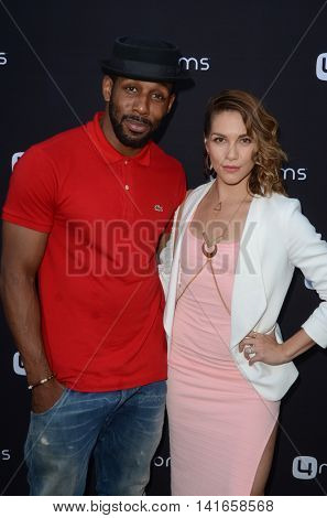 LOS ANGELES - AUG 4:  Stephen Boss, Allison Holker at the 4Moms launch self-installing car seat at the Petersen Automotive Museum on August 4, 2016 in Los Angeles, CA