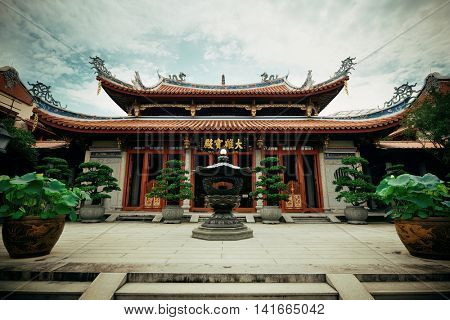 Chinese Buddhism temple in Singapore