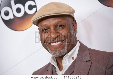 LOS ANGELES - AUG 04:  James Pickens Jr. arrives to the ABC TCA Press Party 2016 on August 04, 2016 in Hollywood, CA