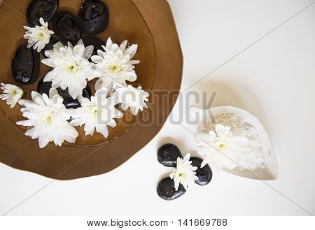 Spa treatment and product for female feet and hand spa, Thailand. select focus