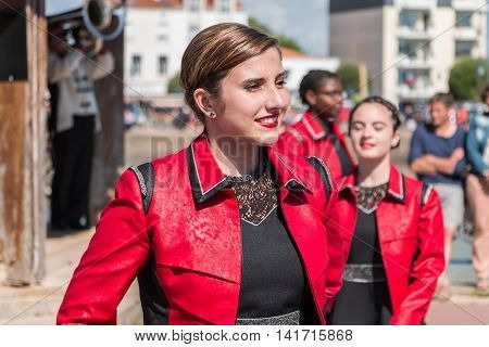 Fanfare Dancing Girl In The Street
