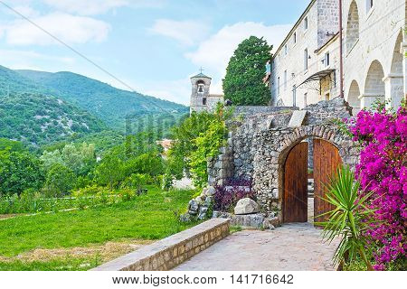 Podmaine Monastery belongs to the Serbian Orthodox Church and is the pearl of Montenegro located in Budva.