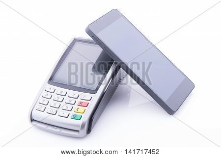 Pos Terminal With A Smartphone