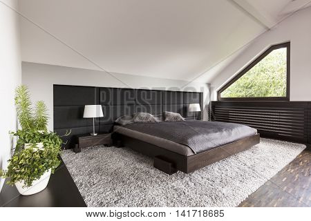 Bedroom With Japanese Bed Idea