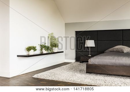 Minimalistic Style Bedroom Idea