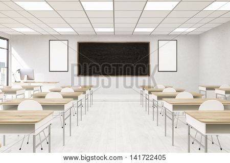 College Classroom Interior