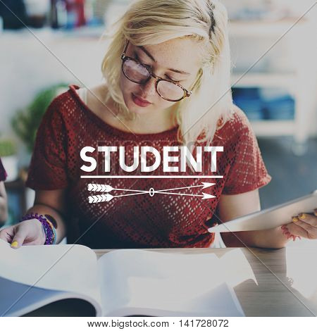 Student Studying Academic Education School Concept