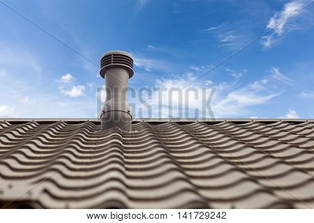 A new roof ventilator for heat control