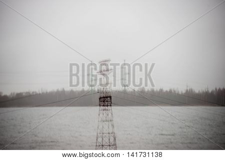 Transmitter Tower. Radar