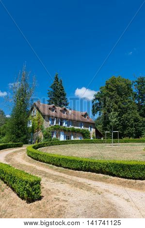 French house with garden in the Limousin