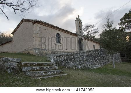 Hermitage Salduero in Soria, Castilla leon, Spain