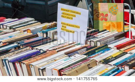 Display Stand Used Books