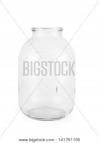 Broken Glass Jar