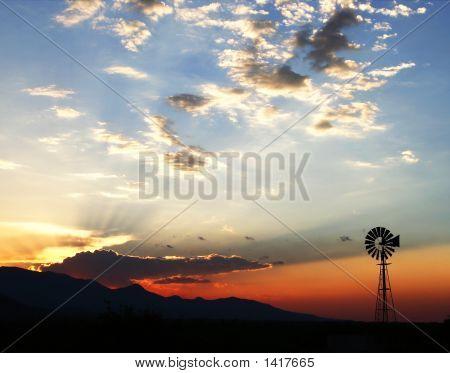 Twilightwindmill