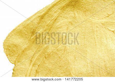 Gold sparkle texture. Abstract Golden glitter background. Gold metal textured foil effect