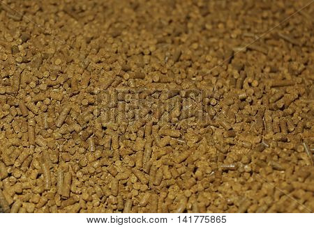 Solid fuel pellets background