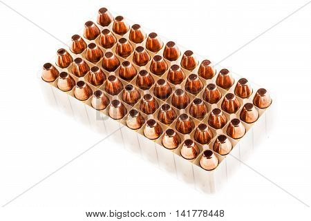 Ammo Blister Isolated