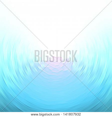 Abstract radial blue background for design
