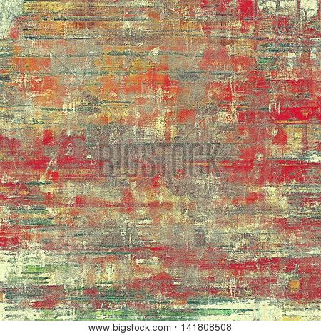 Grunge old texture used as abstract vintage style background. With different color patterns: yellow (beige); brown; gray; red (orange); purple (violet); pink