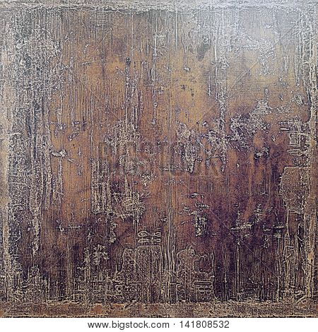Ancient textured background or shabby backdrop. With different color patterns: yellow (beige); brown; gray; purple (violet); pink