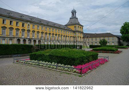 Bonn, Germany - July 10, 2011: Main building of university in Bonn