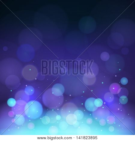 Vector background with light and blur effect for design posters and flyers. File contains clipping mask.
