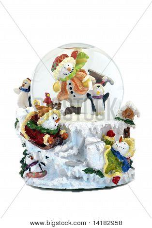 Musical Snowmen Snowglobe