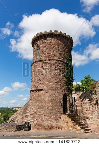 Gazebo Tower folly Ross-on-Wye Herefordshire England UK in the small market town located on the River Wye and on the edge of the Forest of Dean
