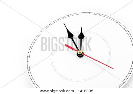 Blank Clockface