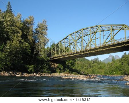 Bridge Over The Skykomish River