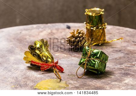 Still life with Merry christmas , art