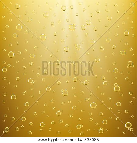 Abstract bubble background element for designers .