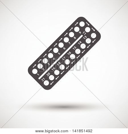 Contraceptive Pil Pack Icon