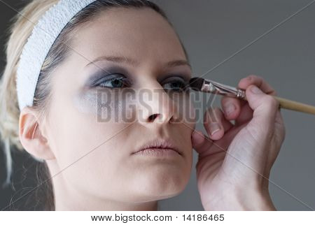 Applying Make Up