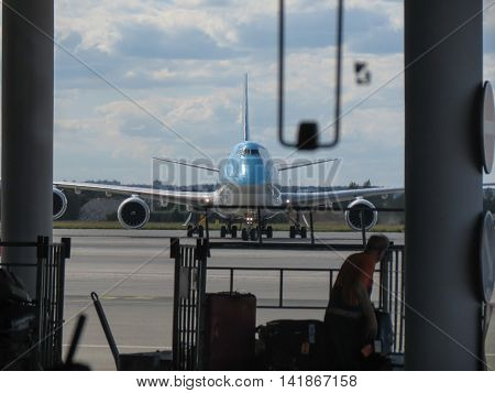 Boeing 747 Of The Korean Air
