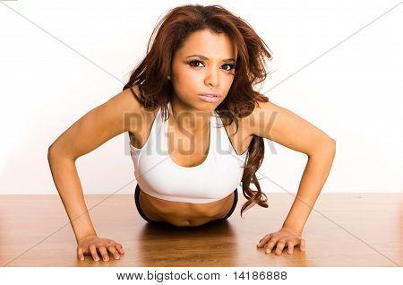 junge Fitness frau