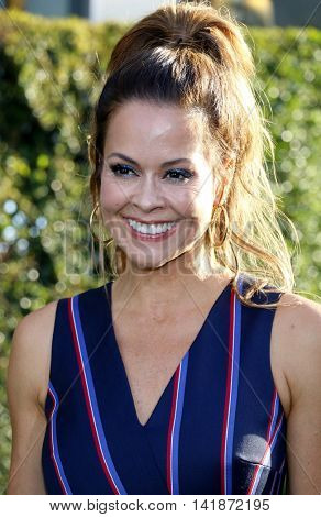 Brooke Burke at the World premiere of 'Pete's Dragon' held at the El Capitan Theatre in Hollywood, USA on August 8, 2016.