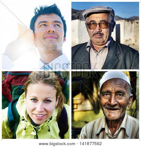 Diversity Diverse Ethnic Ethnicity Occupation Concept
