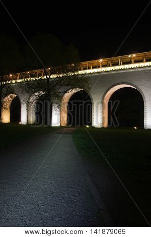 old white stone bridge in the city