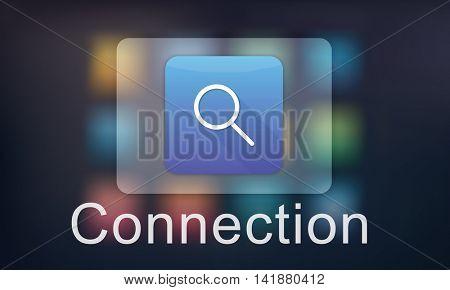 Finder Symbol Media Webpage Website Concept