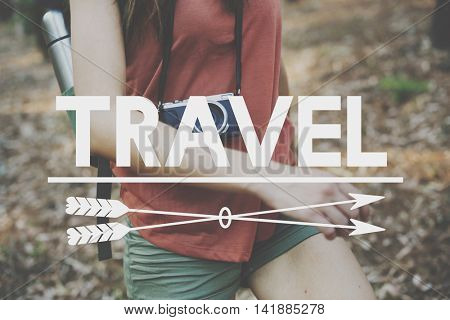 Travel Explore Wanderlust Trip Adventure Concept