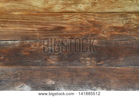 Old Brown Vintage Wooden Texture Background