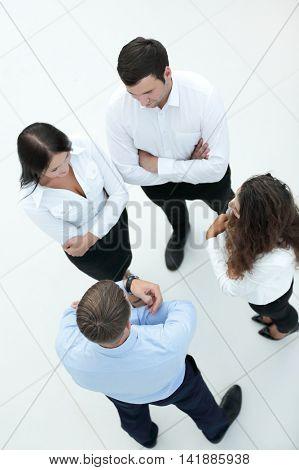 Successful businessteam planning work