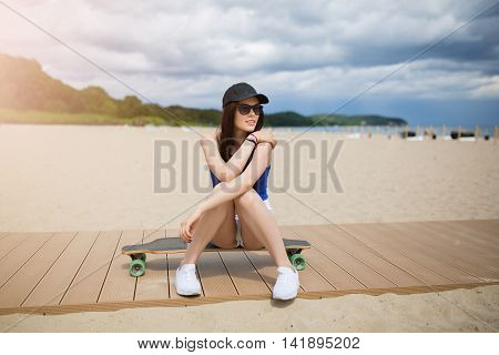 Taking A Rest On The Beach