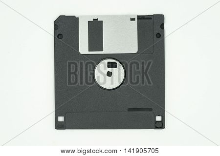 obsolate rare site of floppy disk isolate on white background - can use to display or montage on product