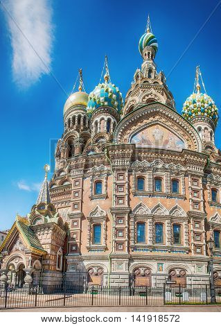 Church of the Saviour on Spilled Blood Saint Petersburg Russia