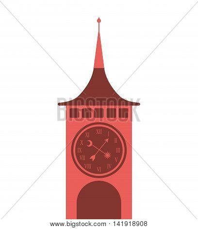 big ben london building vector illustration design
