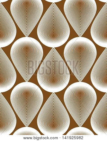Ornate vector abstract background with white lines.