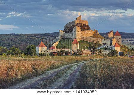 Medieval Rupea Citadel, Romania